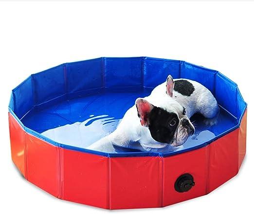 "Outdoor Cooling Dog Pet Pool Furniture Swimming Splash Folding 63/"" Indoor"