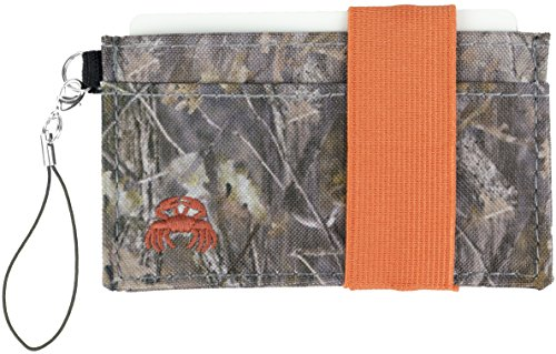 Crabby Wallet - Thin Minimalist Front Pocket Wallet - C3 Canvas Wallet,Woodland,One Size