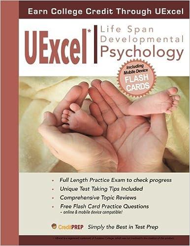 UExcel Life Span Developmental Psychology GCP Editors