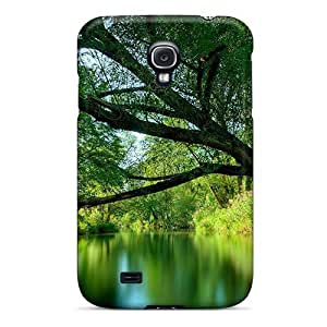 WonderwallOasis Defender PC Hard For Case HTC One M8 Cover - Nature Forest Green Forest River