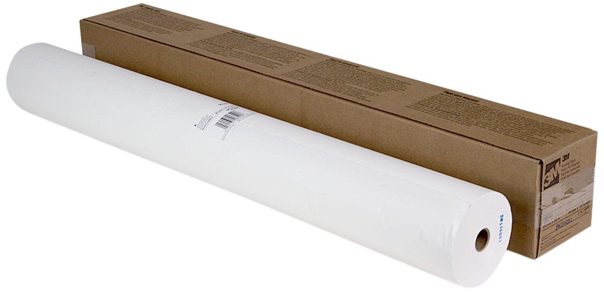 3M 06540 White 36'' x 750' Masking Paper