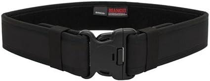 Size: 28 Width: 2-1//4 Black Weave Duty Belt Leather