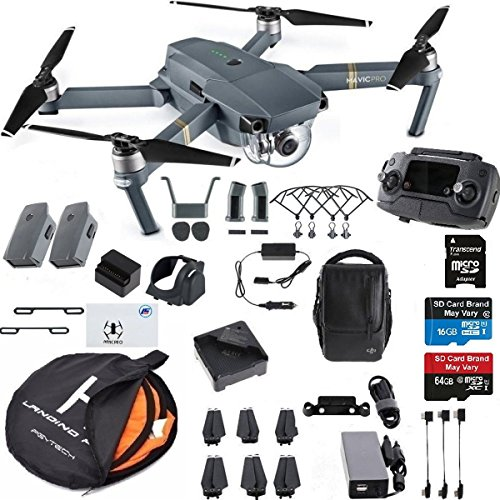 8e442a99965 DJI Mavic Pro Fly More Combo Collapsible Quadcopter Drone Safety ...