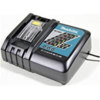 MAKITA DC18RC 18V Lithium-Ion Rapid Optimum Charger / Battery Chargers / Compact Design / LED light / Fast Charging