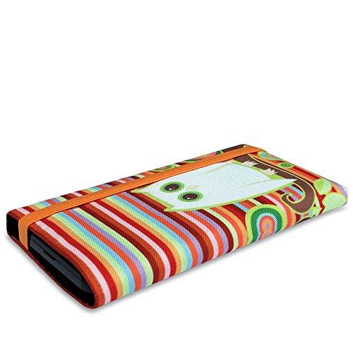 Stilbag Funda MIKA para Sony Xperia Z3+–Diseño: Piano Music multicolor, diseño de búho
