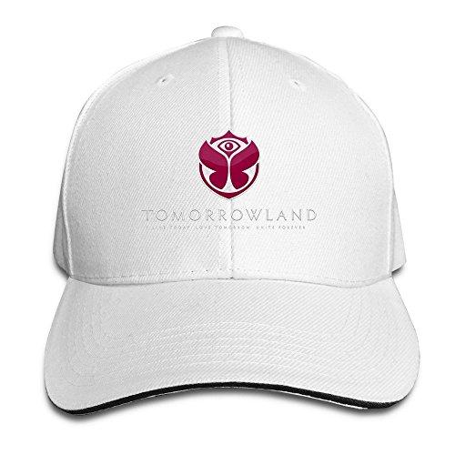 Negro Mesh Tomorrowland Blanco Unisex Cap t8q5dZ6