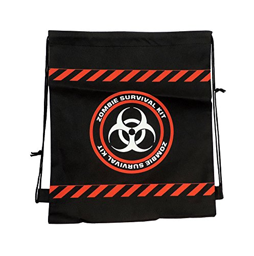 Zombie Survival Backpack (Drawstring Backpack Zombie Survival)