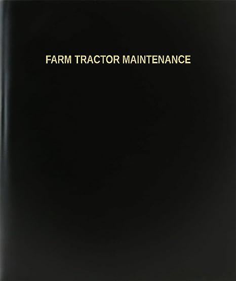 BookFactoryR Farm Tractor Maintenance Log Book Journal Logbook
