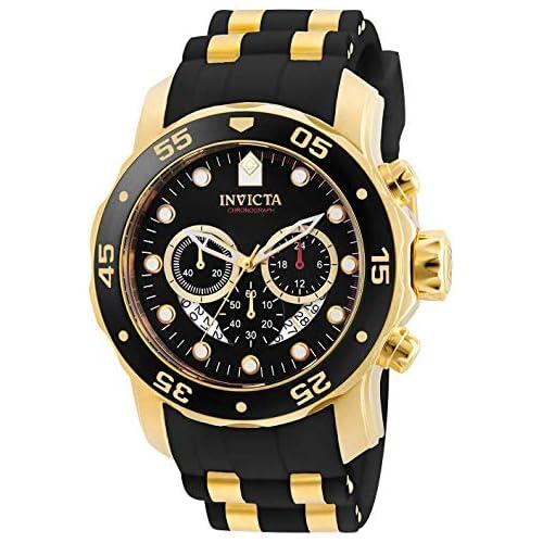 chollos oferta descuentos barato Invicta 6981 Pro Diver Scuba Reloj para Hombre acero inoxidable Cuarzo Esfera negro