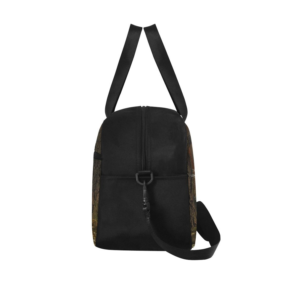 Unique Design Duffel Bag Beautiful Magical Unicorn Stags Prance Travel Tote Bag Handbag Crossbody Luggage