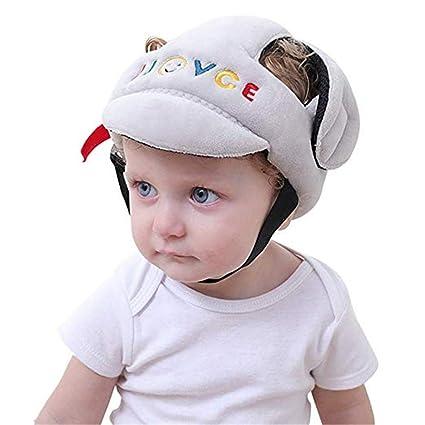 Protección para la cabeza Casco de seguridad ajustable para bebés, casco de protección para niños
