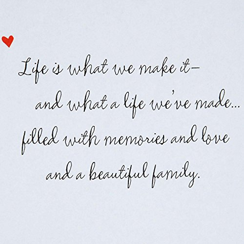 Hallmark Father's Day Greeting Card for Husband (Grateful and Lucky to be Your Wife) Photo #5