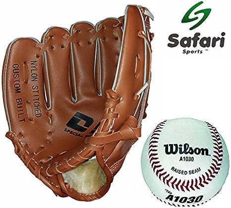 Wilson pelota de béisbol y guante Set de regalo: Amazon.es ...