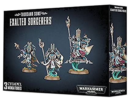 Games Workshop Warhammer 40K Thousand Sons Exalted Sorcerers