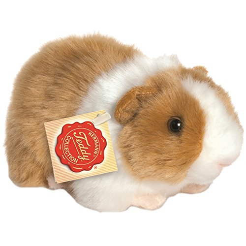 Hermann Teddy Colecci/ón 926399/20/cm Dorado//Blanco Guinea Pig Plush Toy