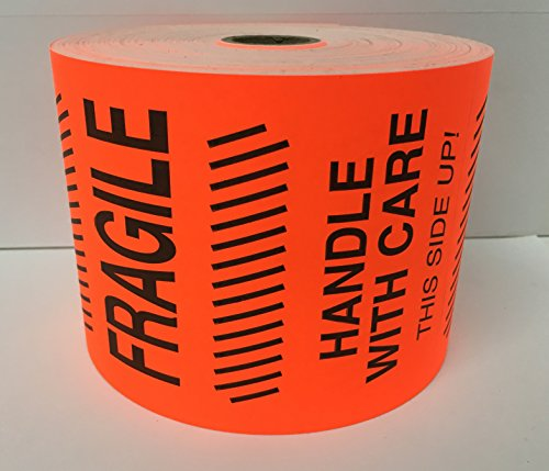 FRAGILE Special Handling Shipping Stickers