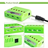 UPGRADE-keenstone-6Pcs-720mAh-20C-battery-with-6-Port-Quick-Charger-for-Syma-X5-X5C-X5A-X5SW-X5C-X5C-1-Cheerson-CX-30W-Quadcopters-Overcharge-protection-and-Faster-Charging-Speed