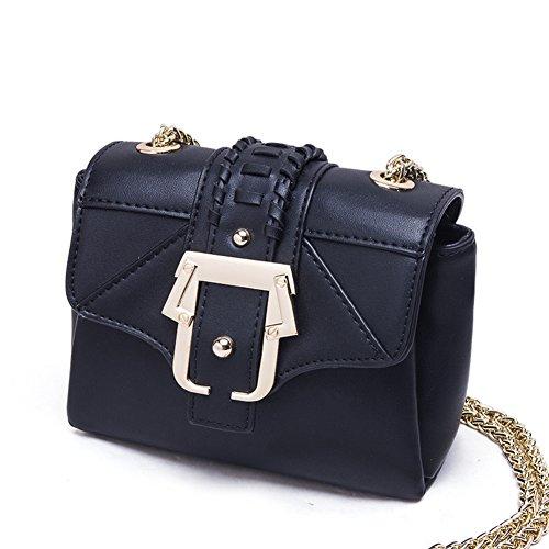 Petit paquet messager à nbsp; de boucle nbsp;Fashion lock C mini C sac nbsp; chaîne bandoulière nbsp;tricot sac qqwpxHCnrd