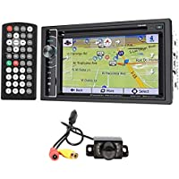 Power Acoustik PDN-626B DVD/CD Car Stereo GPS Receiver+Bluetooth+Backup Camera