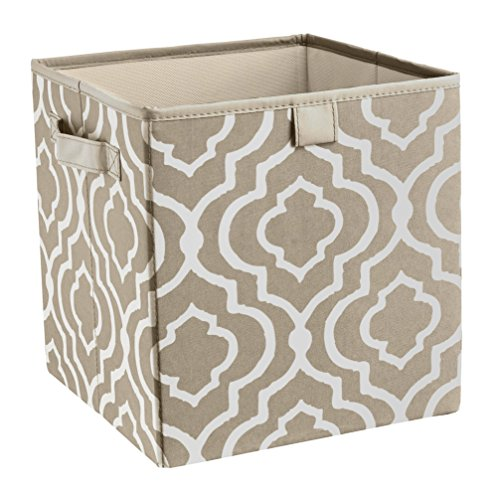 Closetmaid 16088 Premium 2-Handle Storage Bin, Graystone ...