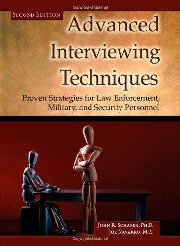 Advanced Interviewing Techniques Strategies Enforcement