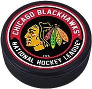 Chicago Blackhawks Arrow Textured Puck