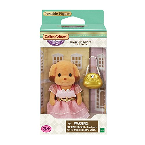 Calico Critters Town Girl Series – Toy Poodle –