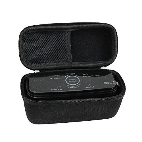 Hermitshell Hard EVA Travel Black Case for DOSS Touch Wireless Bluetooth V4.0 Portable Speaker by