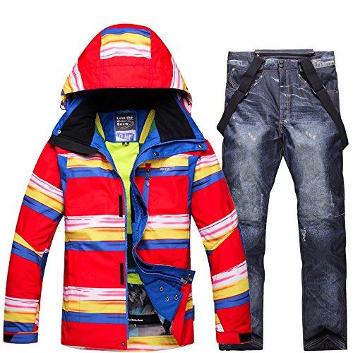 Antivento nero Caldo L Ry Cappotto Sci Uomini Fym Pantaloni Giacca Da Dyf Impermeabile Giacche Cerniera Donne Tuta 7ZwxqOAU