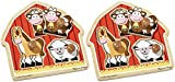 Melissa & Doug Barnyard Animals Jumbo Knob Puzzle 2 pack