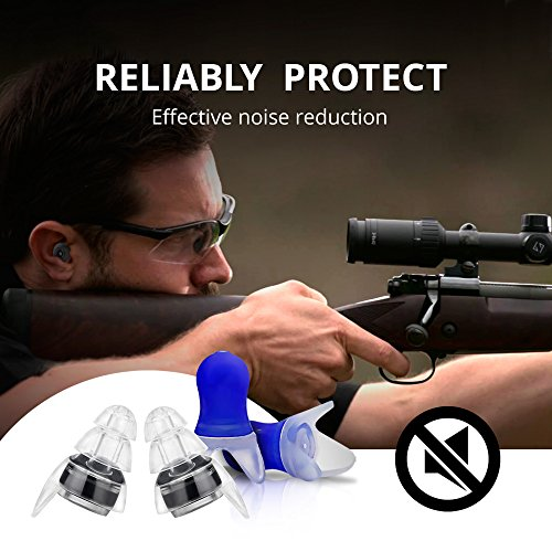 High Fidelity Earplugs Protection for Professional Musicians, DJ's at Concerts - Noise Cancelling Ear Plugs for Sleeping, Travel, Swimming, Drummers and Isolate Industrial Sounds by Zollver (Image #8)