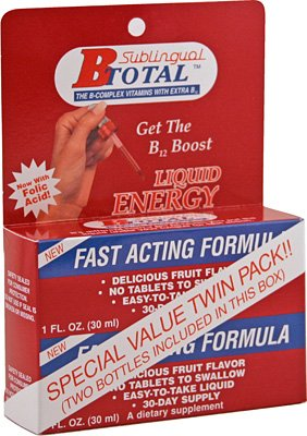 The B-Total Solution - Sublingual B Vitamins - Twin Pak