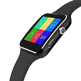 Amazon.com: NAIKU Bluetooth Smart Watch, X6 Sport Passometer ...