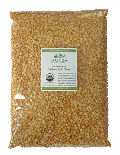Hunza Organic Yellow Split Peas (5 (Yellow Pea Soup)