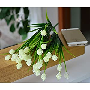 FYYDNZA 1 Set 6 Forks Branches Simulation Pine Nuts Fake Flower Decoration Living Room Wedding Decoration Artificial Home Decor 23