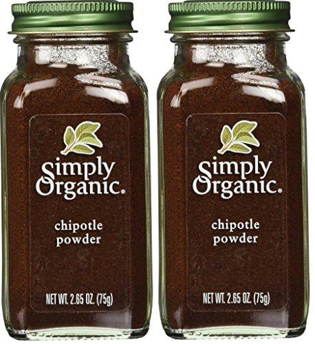Simply Organic Chipotle Powder, 2.65 (Organic Chipotle)