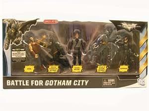 Batman The Dark Knight Rises Movie 3 3/4 Battle for Gotham City Action Figure 5-Pack Exclusive
