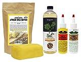 WildGrowth Hair Oil, LightOil Moisturizer 4oz, OLFactory 100% Castor Oil 16oz & Sheabutter Yellow 16oz For Sale