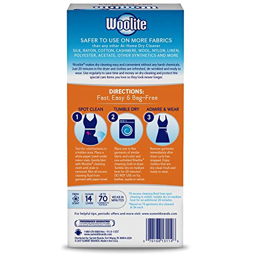 Woolite at-Home Dry Cleaner, Fresh Scent, 28 Cloths by Woolite (Image #2)