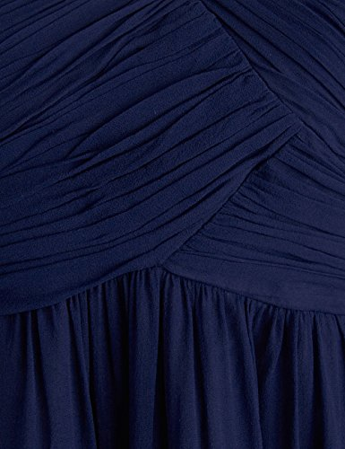 Dressystar Robe de demoiselle d'honneur/de soirée Simple, en Mousseline Taille 46W Vert