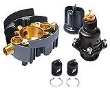 Kohler K-P8304-KS-NA Universal RITE-Temp PB valve body and pressure-balance cartridge kit with service stops, project pack
