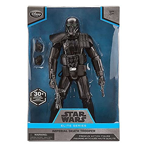 Star Wars Elite Series Imperial Death Trooper Premium Action Figure - 10 Inch - Trooper Model