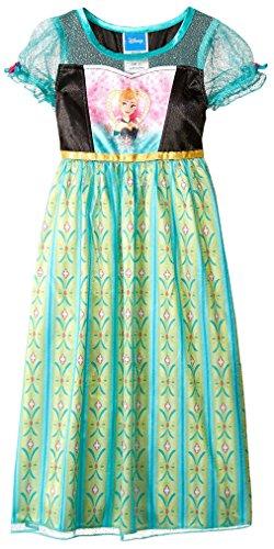 Disney Kid's Frozen Fantasy Gown, Multi, 8 (Disney Frozen Gowns)
