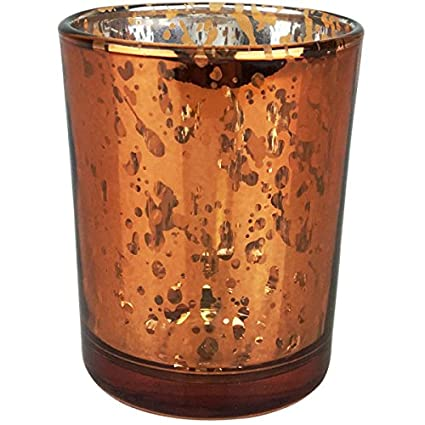 amazon com just artifacts bulk mercury glass votive candle holder