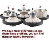 DAMO 3/16 inch Bevel Diamond Hand Profiler Router