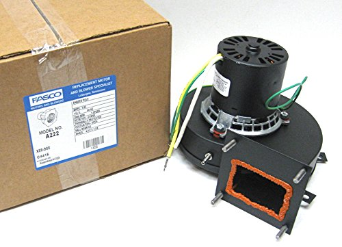 - Fasco A222 115 Volt 3000 RPM York Furnace Draft Inducer Blower