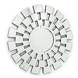Fab Glass and Mirror Fab-WSTC016 Decorative Sunburst Bathroom Wall Mirrors
