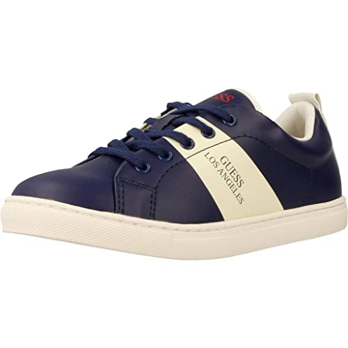 Zapatillas para niño, Color Azul, Marca GUESS, Modelo Zapatillas para Niño GUESS FISAO3 ELE12 Azul: Amazon.es: Zapatos y complementos
