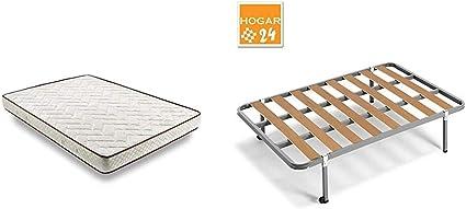 HOGAR24 ES - Conjunto de descanso 105 x 200 cm - Colchón ...