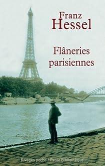 Flâneries parisiennes par Hessel